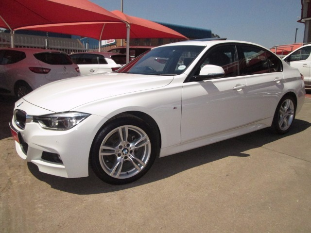 2018 White Bmw 320i M Sport A T F30 2015 8 2019 3 Only R 422500