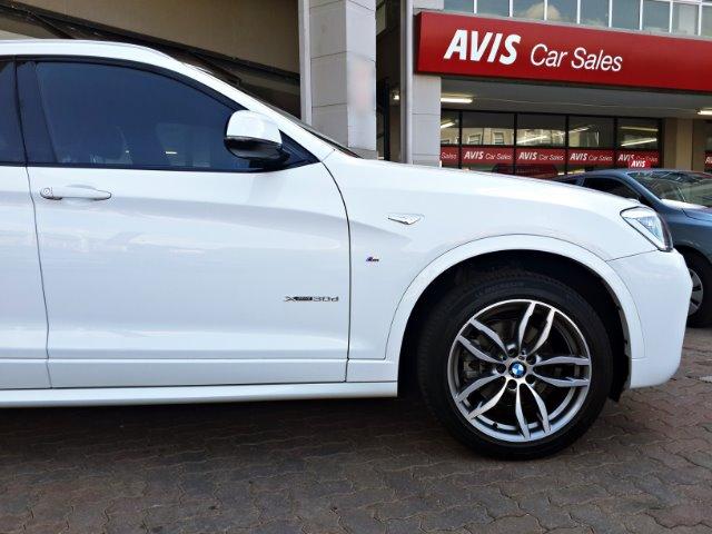 BMW X4 xDRIVE30d M SPORT  White