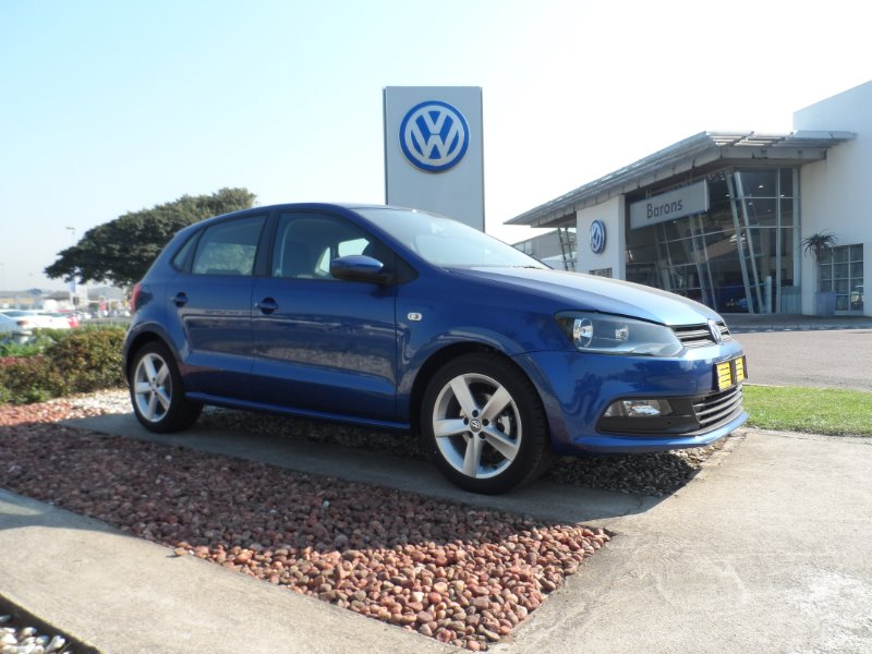 VOLKSWAGEN POLO VIVO 1.6 HIGHLINE (5DR)