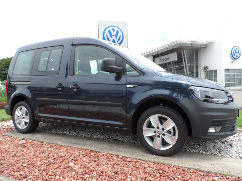 VOLKSWAGEN CADDY4 CREWBUS 2.0 TDi  STARLIGHT BLUE METAL