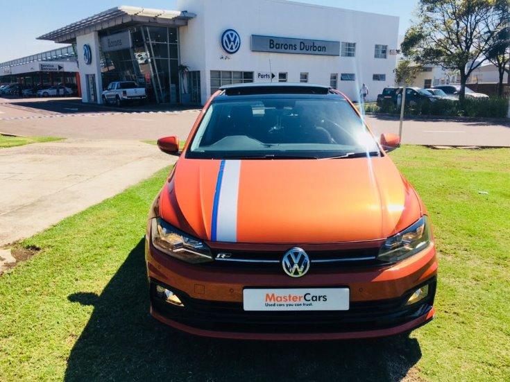 2018 Energetic Orange Met Volkswagen Polo 1.0 Tsi Highline ...