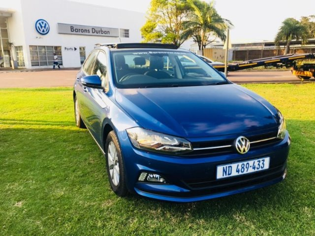 VOLKSWAGEN POLO 1.0 TSI HIGHLINE (85KW) REEF BLUE METALLIC