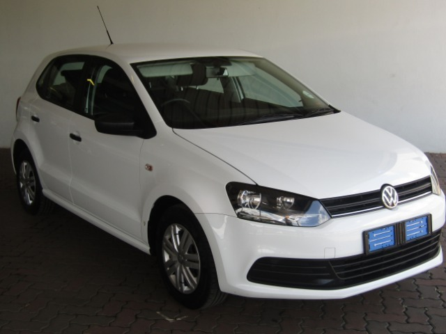 2018 White Volkswagen Polo Vivo 1.4 Trendline (5dr) Only R 179900 1e7e5e3f551d3
