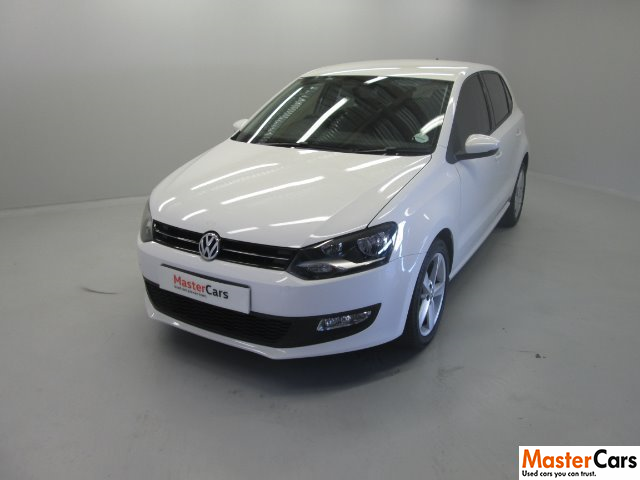VOLKSWAGEN POLO 1.6 COMFORTLINE TIP 5DR (2010-1) - (2014-12) CANDY WHITE