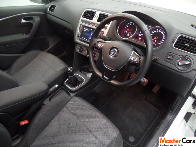 VOLKSWAGEN POLO GP 1.2 TSI HIGHLINE DSG (81KW) PURE WHITE