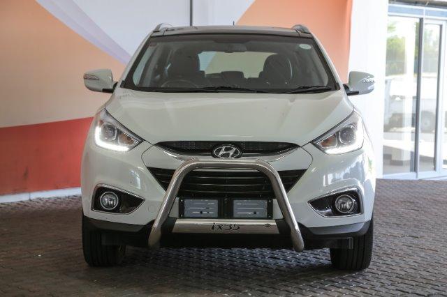 HYUNDAI iX35 2.0 ELITE A/T (2014-1) - (2017-9) White