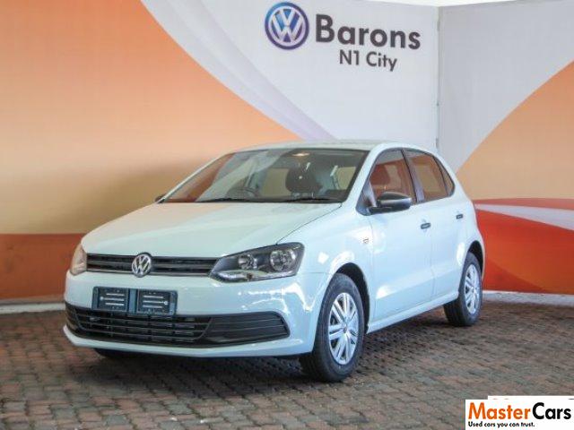 2019 Pure White Volkswagen Polo Vivo 1.4 Trendline (5dr) Only R 198000 6b322682a080b