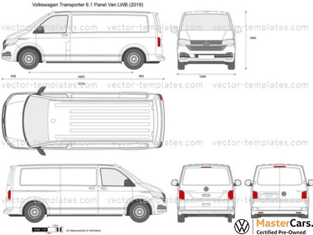 2021 VOLKSWAGEN T6.1 2.0TDi 81KW LWB F/C P/V