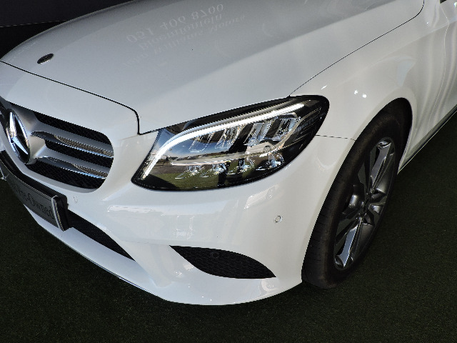 MERCEDES-BENZ C200 A/T polar white