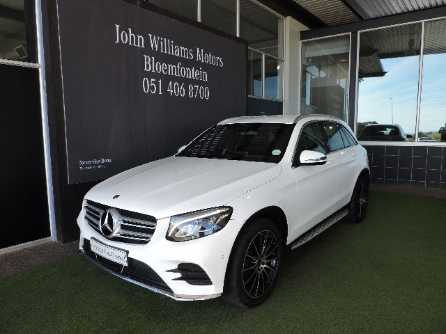 MERCEDES-BENZ GLC 250d AMG (2015-7) - (2019-6) White
