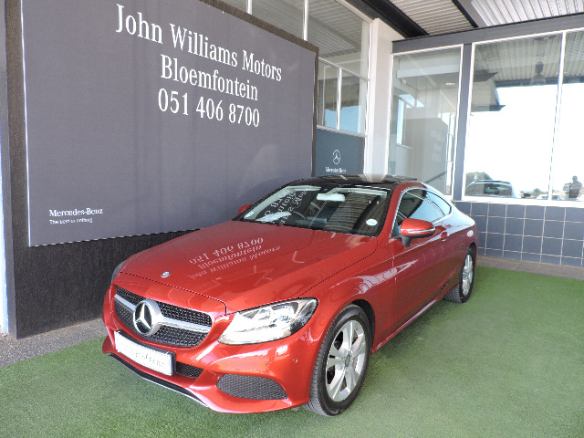 MERCEDES-BENZ C200 COUPE A/T (2016-2) - (2018-8) Red