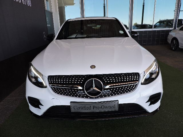 MERCEDES-BENZ GLC COUPE 220d AMG (2016-7) - (2019-6) White
