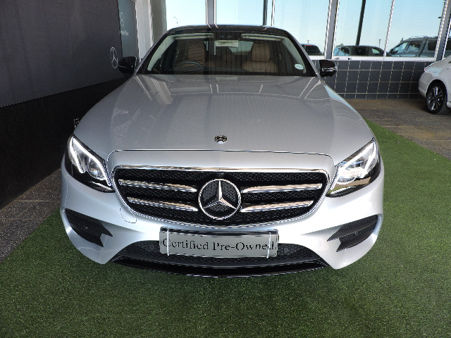 MERCEDES-BENZ E 200 AMG iridium silver metallic