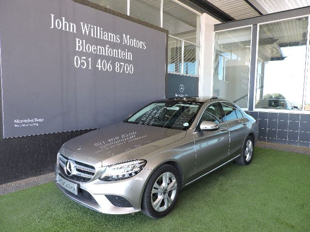 MERCEDES-BENZ C220d A/T mojave silver metallic