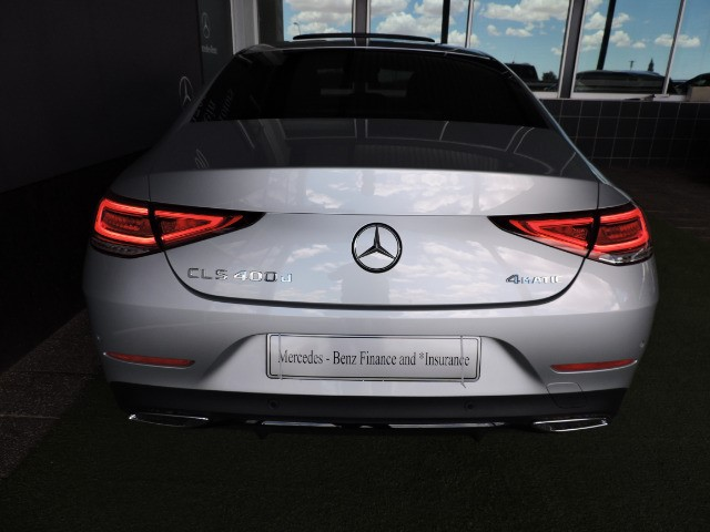 MERCEDES-BENZ CLS 400d 4MATIC iridium silver metallic