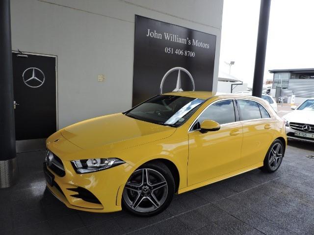 MERCEDES-BENZ A 200 A/T Yellow