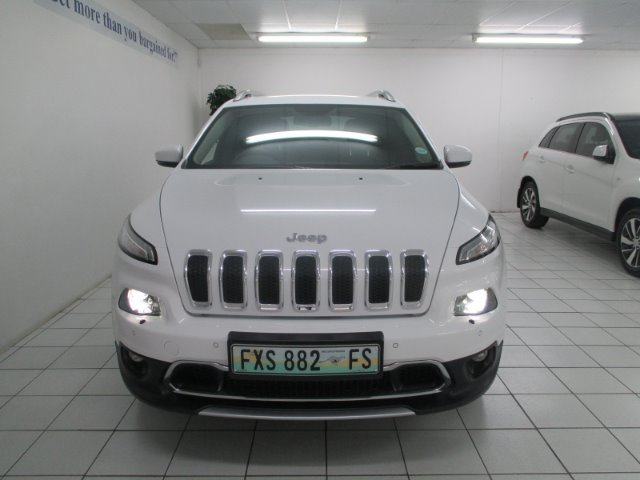 JEEP CHEROKEE 3.2 LIMITED AWD A/T White