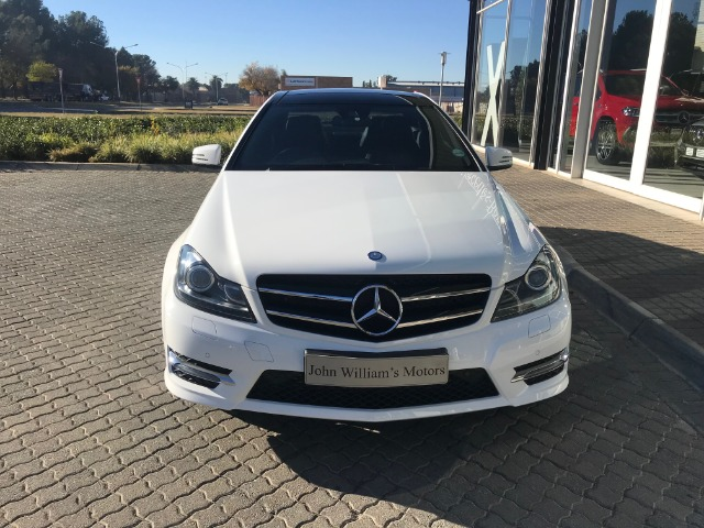 MERCEDES-BENZ C180 BE COUPE A/T (2012-8) - (2016-5) WHITE