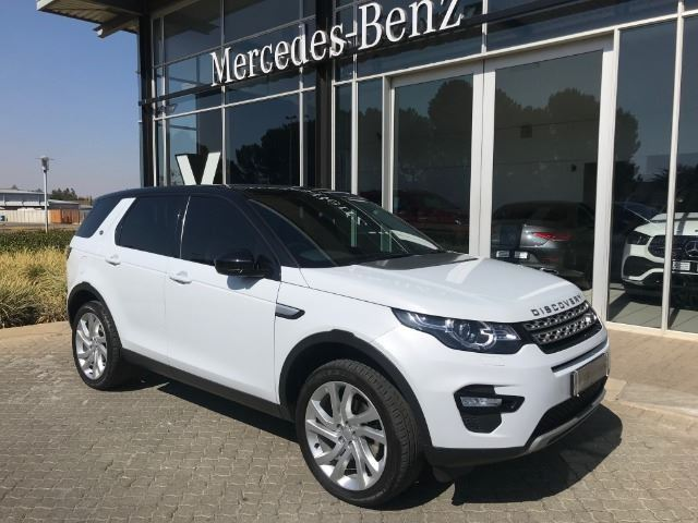 LAND ROVER DISCOVERY SPORT 2.2 SD4 HSE (2015-4) - (2017-12) White