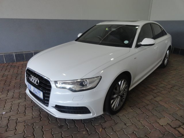 AUDI A6 3.0 TDi MULTITRONIC (2011-6) - (2015-3) White