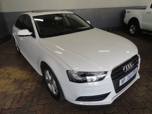AUDI A4 1.8T SE (2012-3) - (2016-2) IBIS WHITE WITH ICE