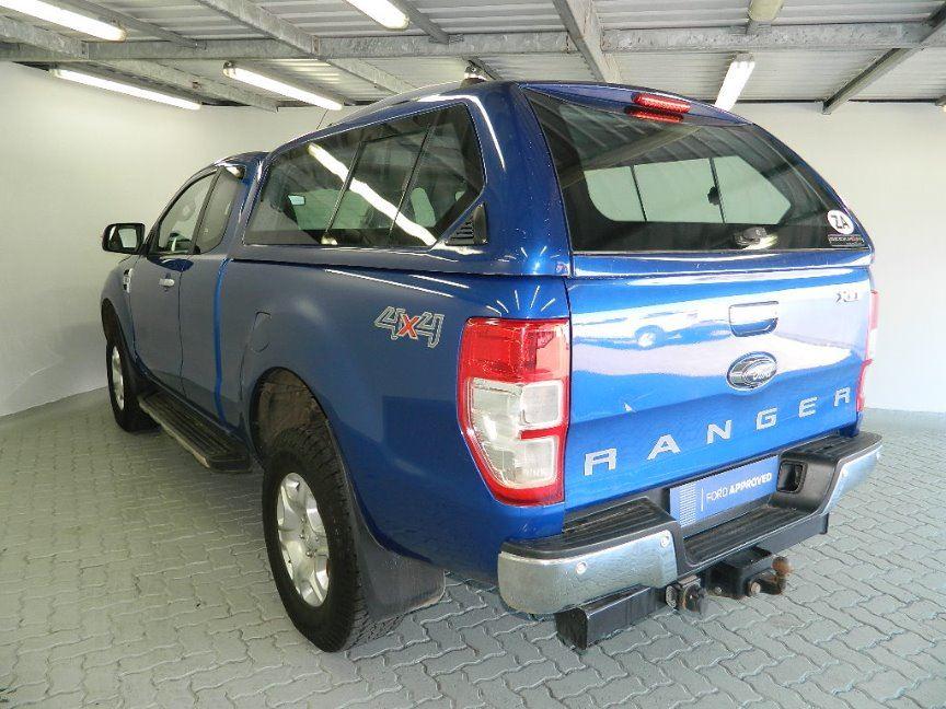 FORD RANGER 3.2TDCi XLT 4X4 A/T P/U SUP/CAB Blue