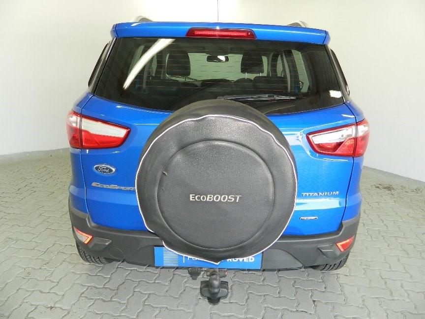 FORD ECOSPORT 1.0 ECOBOOST TITANIUM (2013-7) - (2018-6) Blue