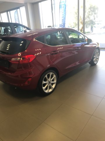 FORD FIESTA 1.0 ECOBOOST TITANIUM A/T 5DR Ruby Red