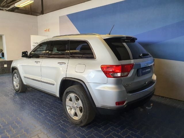 JEEP GRAND CHEROKEE 3.6 LIMITED (2010-12) - (2013-8) silver