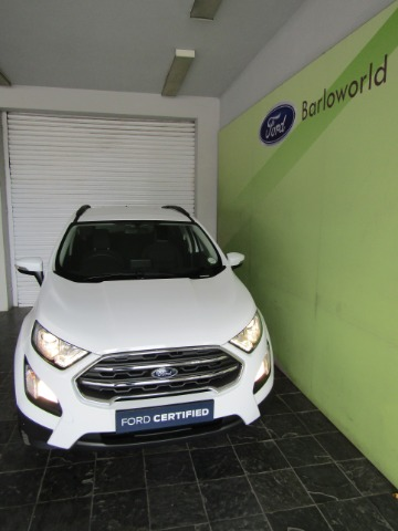 FORD ECOSPORT 1.0 ECOBOOST TREND A/T Frozen white