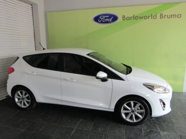 FORD FIESTA 1.0 ECOBOOST TREND 5DR White
