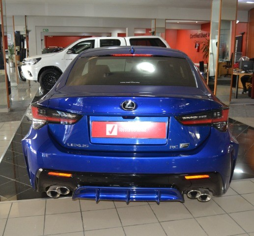 LEXUS RC-F 5.0 V8 Poseidon blue (
