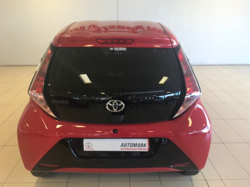 TOYOTA AYGO 1.0 X-CITE (5DR) Cherry Red