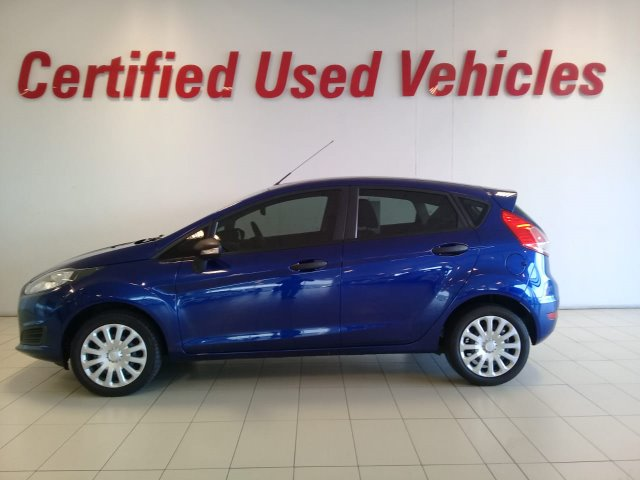 FORD FIESTA 1.4 AMBIENTE 5 Dr (2013-1) - (2018-5) Blue