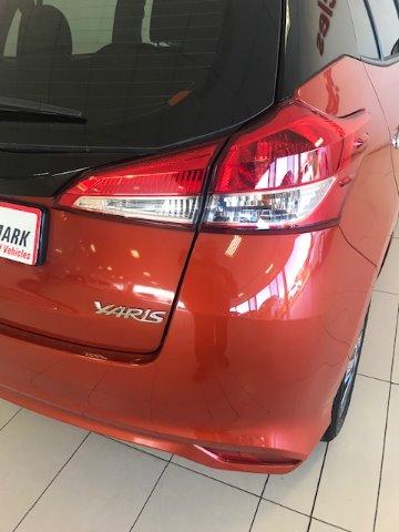 TOYOTA YARIS 1.5 Xs 5Dr Orange Metallic