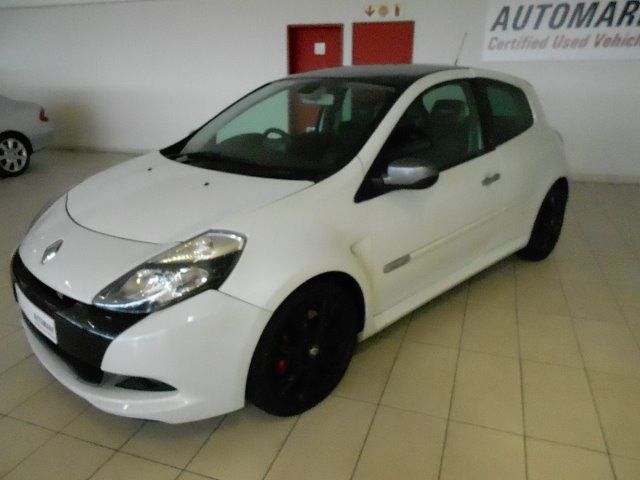 RENAULT CLIO III 2.0 RS 20th EDITION 3Dr (2010-11) - (2012-1) White