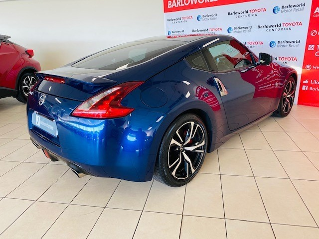2018 NISSAN 370Z COUPE A/T