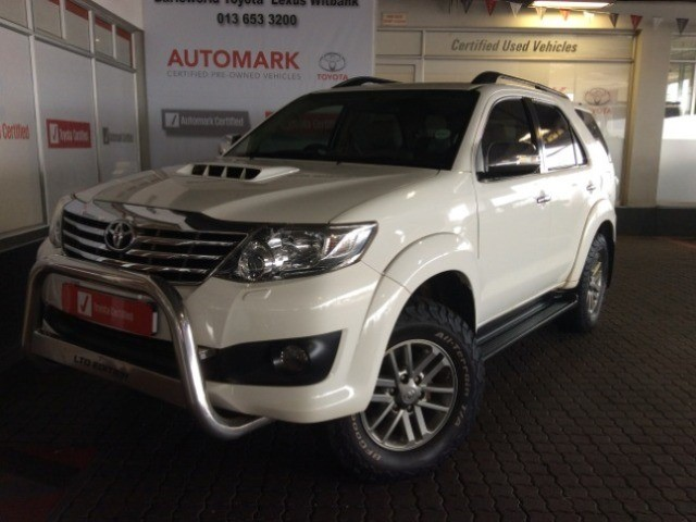 TOYOTA FORTUNER 3.0D-4D 4X4 A/T (2011-9) - (2016-12)