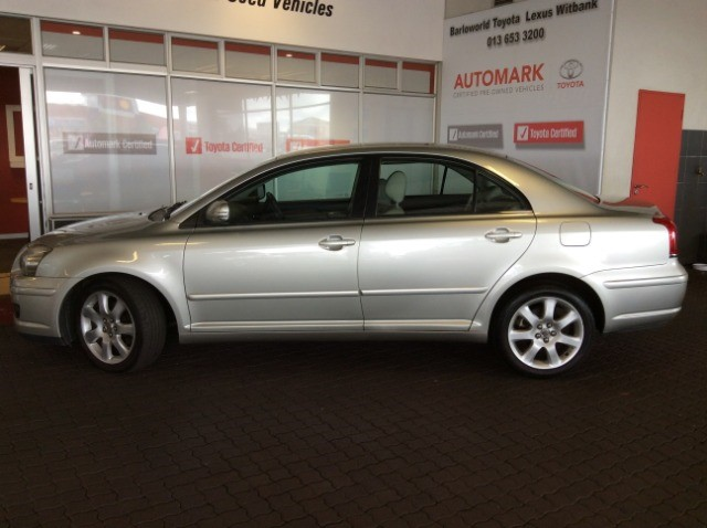 2008 TOYOTA AVENSIS 2.4 EXCLUSIVE A/T