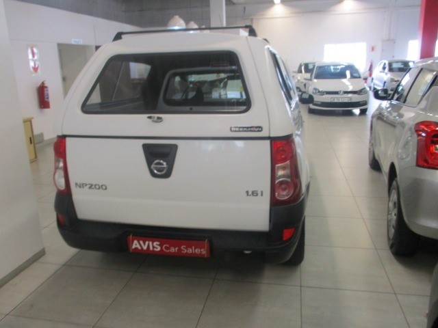 2016 NISSAN NP200 1.6  A/C SAFETY PACK P/U S/C