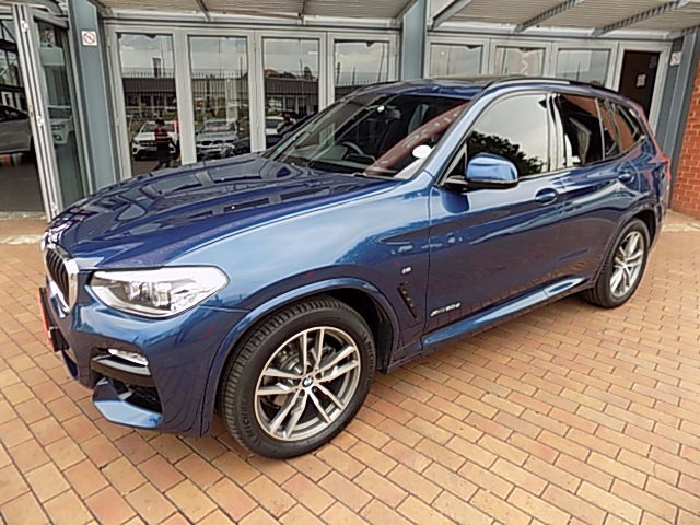 BMW X3 xDRIVE 20d M-SPORT (G01)