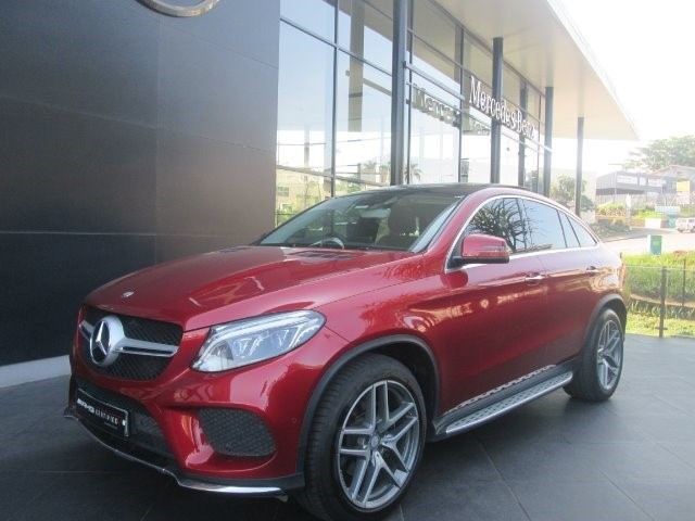 2016 MERCEDES-BENZ GLE COUPE 350d 4MATIC