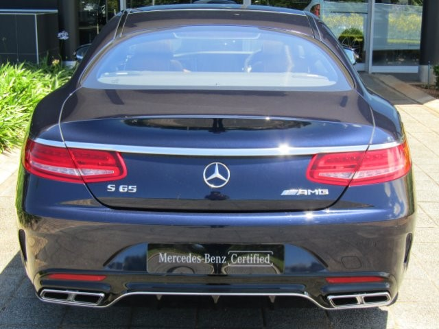 2018 MERCEDES-BENZ S 65 AMG COUPE