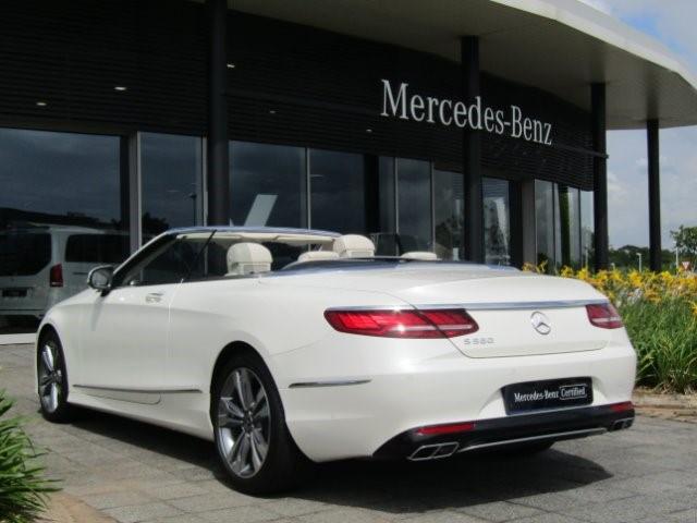 2020 MERCEDES-BENZ S560 CABRIO