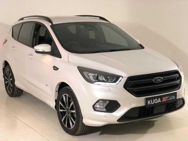 FORD KUGA 2.0 TDCi ST AWD POWERSHIFT WHITE PLATINUM TRI-C