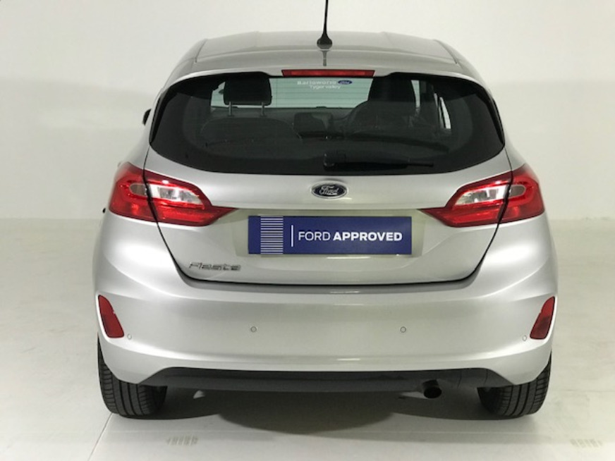 FORD FIESTA 1.0 ECOBOOST TREND 5DR A/T Moondust Silver