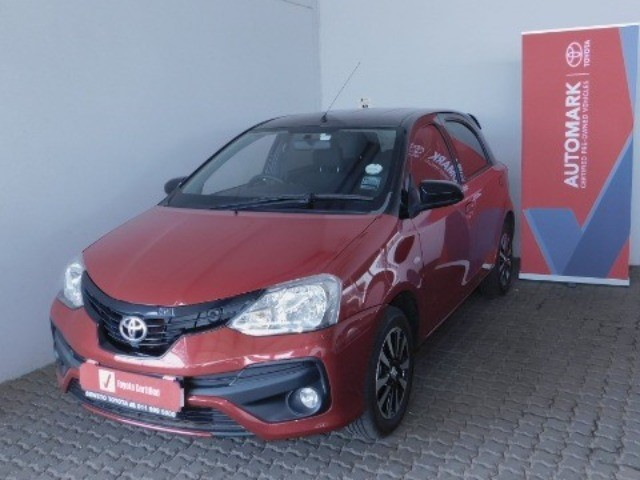 TOYOTA ETIOS 1.5 SPORT LTD EDITION 5DR