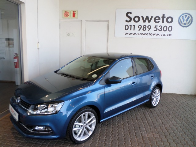 2017 Blue Silk Metallic Volkswagen Polo Gp 1 2 Tsi