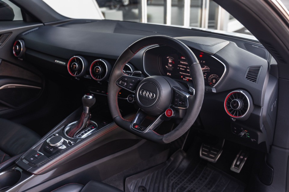 2018 AUDI TT RS QUATTRO COUPE STRONIC