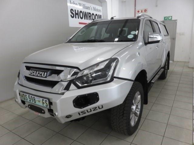 ISUZU KB 300 D-TEQ LX A/T 4X4 P/U D/C (2016-9) - (2019-7) Silver
